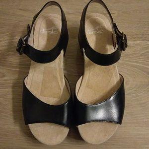 0618da2f068 Dansko Shoes - New Dansko Silvie Black Platform Sandals